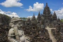 Sewu寺庙在印度尼西亚 免版税库存照片