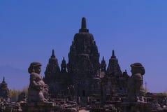 Sewu寺庙 图库摄影
