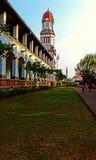 sewu de lawang sur la ville de Semarang Photos libres de droits