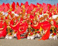 Free Sewu Gandrung Traditional Dance From Banyuwangi East Java Indonesia Royalty Free Stock Image - 182930376