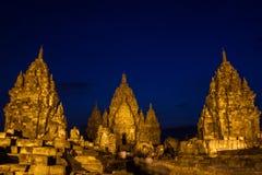 Sewu tempel Royaltyfria Foton