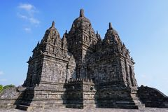 Sewu temple in the morning royalty free stock photos