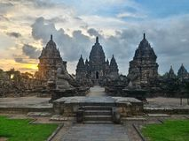 Sewu Temples. Klaten, Indonesia Stock Images