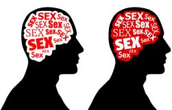 Sex on The Brain Stock Images