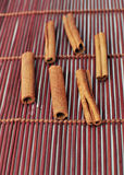 Cinamon pinnar Arkivbilder