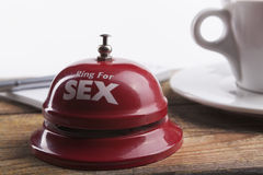 Sex and Coffee Royalty Free Stock Image