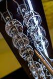 Sex exponeringsglas av torkat exponeringsglas Royaltyfri Bild