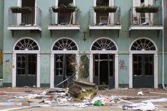Sex flaggor New Orleans Arkivbilder