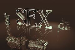 Sex Graphic Royalty Free Stock Photos