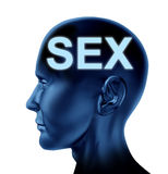 Sex on the mind Royalty Free Stock Photography