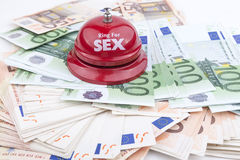 Sex Money Royalty Free Stock Photo