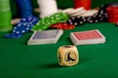 Sex Poker Stock Photography