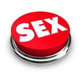Sex - Red Button Stock Images