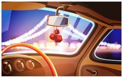 Sex (6) rusar bilöverföringen Royaltyfri Bild