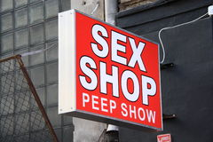 Sex Shop Royalty Free Stock Photo