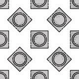 Sex shop flat pattern Stock Image