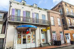 Sex shop in a historic building in the French Quarter in New Orleans Royalty Free Stock Photos