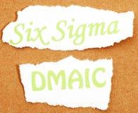 Sex Sigma Royaltyfri Fotografi