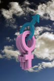 Sex symbol Imagen de archivo libre de regalías
