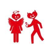 Sex symbol valentine Stock Photography