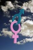 Sex symbols Stock Images