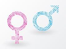 Sex symbols Stock Photography