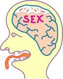 Sex thinking Stock Image