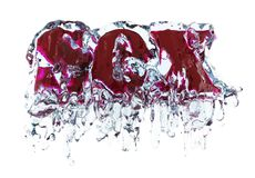 Sex in water Royalty Free Stock Photo