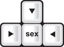 Sexbutton Стоковые Изображения RF
