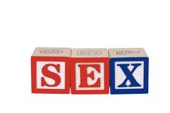 Sexe Photographie stock