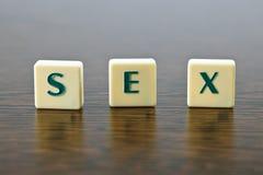 Sexe de signe Photo libre de droits