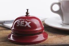 Sexe et café image libre de droits