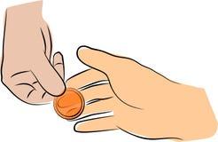 Sexe sûr avec le condom illustration de vecteur