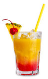 Sexe sur le cocktail de plage Photos libres de droits