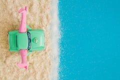 Sexe sur le concept d'abrégé sur plage Photo libre de droits