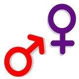 Sexe. Symbole Photo libre de droits