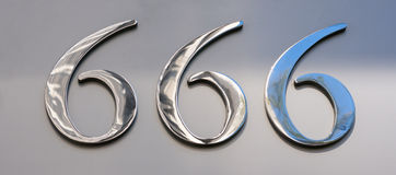 Sexhundra sextiosex Arkivbild