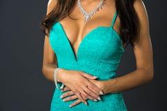 Sexi молодой женщины стоковое изображение