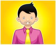 Sexig affärsmanservice royaltyfri illustrationer