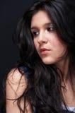 sexig arabisk brunett Arkivbilder