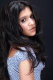 sexig arabisk brunett Royaltyfri Fotografi