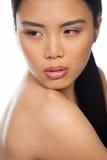 Sexig asiatisk kvinna Arkivbilder
