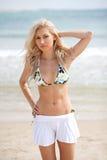 sexig bikinilady fotografering för bildbyråer