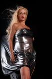 sexig blond look fotografering för bildbyråer