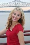 sexig blondin Royaltyfria Foton
