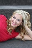 sexig blondin Royaltyfria Bilder
