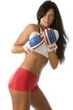 sexig boxare Royaltyfria Bilder