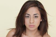 sexig brunett Royaltyfria Bilder