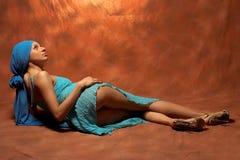 sexig brunett Fotografering för Bildbyråer