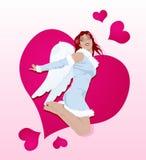 sexig cupid stock illustrationer